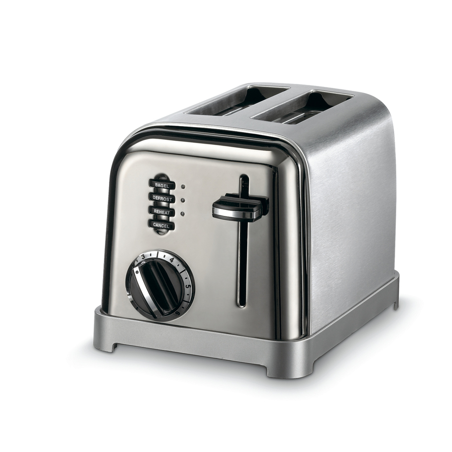 Shop Cuisinart 2 Slice Stainless Steel Toaster At