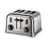 Cuisinart 4-Slice Black Chrome Metal Toaster