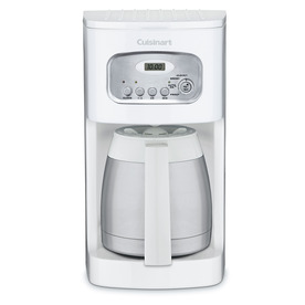 Shop Cuisinart White 10-Cup Programmable Coffee Maker at Lowes.com