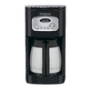 Cuisinart Black with Stainless Steel Accents 10-Cup Programmable Programmable Coffee Maker
