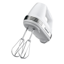 Cuisinart 5-Speed White Hand Mixer HM-50