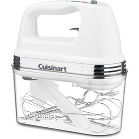 Cuisinart 9-Speed White Hand Mixer HM-90S