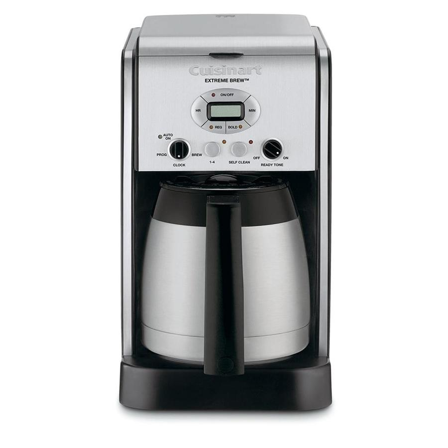 Shop Cuisinart Stainless Steel 10-Cup Programmable Coffee Maker at Lowes.com