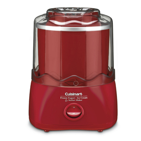 Cuisinart 1.5-Quart Automatic Frozen Yogurt, Sorbet and Ice Cream Maker ICE-21R