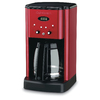 Cuisinart Red 12-Cup Programmable Coffee Maker