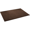 Blue Hawk Walnut/Onyx Rectangular Door Mat (Common: 36-in x 48-in; Actual: 36-in x 48-in)