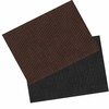 Blue Hawk 36-in x 48-in Walnut or Onyx Rectangular Door Mat