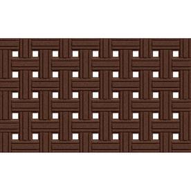 Apache Mills, Inc. Rectangular Door Mat (Common: 18-in x 30-in; Actual: 18-in x 30-in)