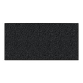 Apache Mills, Inc. Black Garage Mat (Common: 4-ft x 8-ft; Actual: 48-in x 96-in)