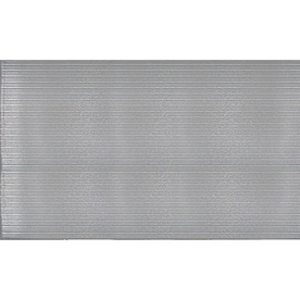 Blue Hawk Gray Anti-Fatigue Mat (Common: 3-ft x 5-ft; Actual: 36-in x 60-in)