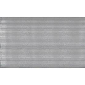 Apache Mills, Inc. Anti-Fatigue Runner 36-in Gray Cast Runner (By-The-Foot)