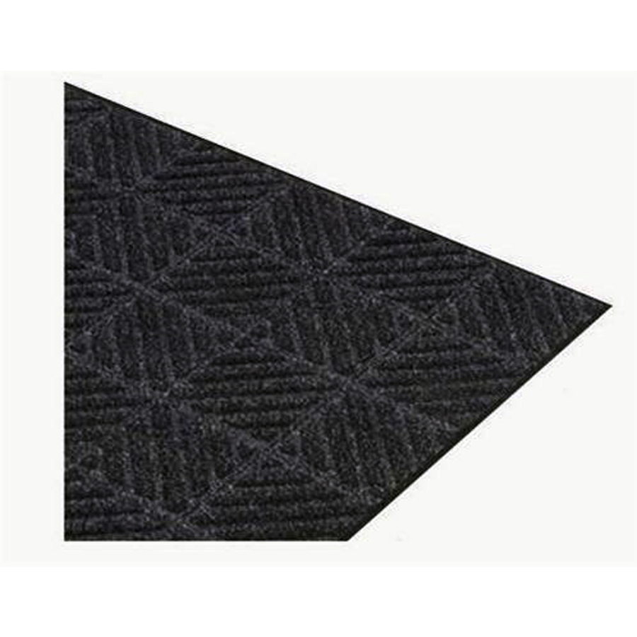 Rug Runner At Lowes: Shop Apache Mills, Inc. Montage 36-in Black Needlepunched