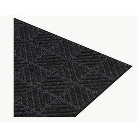 Apache Mills, Inc. Montage 36-in Black Needlepunched Plastic Runner (By-The-Foot)