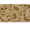 Style Selections 30-in x 18-in Tan Rectangular Door Mat