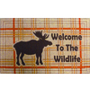 Style Selections 18-in x 30-in Tan Rectangular Door Mat
