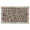 Apache Mills, Inc. Multicolor Rectangular Door Mat (Common: 18-in x 30-in; Actual: 18-in x 30-in)