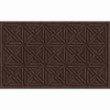 Apache Mills, Inc. Brown Rectangular Door Mat (Common: 18-in x 30-in; Actual: 18-in x 30-in)