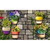 Apache Mills, Inc. Potted Plants Rectangular Door Mat (Common: 18-in x 30-in; Actual: 18-in x 30-in)
