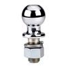 BULLDOG 2-in Chrome Standard Hitch Ball
