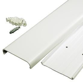 Wiremold 3-1/2-in x 48-in Low-Voltage White Cord Cover