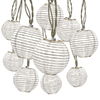 Gemmy 8.53-ft White Mini Bulb Lanterns Patio String Lights