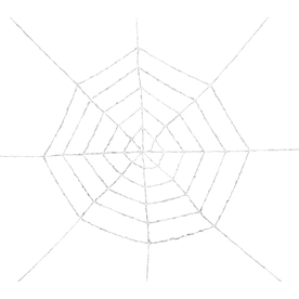 Gemmy Tinsel Spider Web Webbing