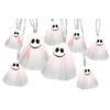Gemmy 8-Count Indoor Twinkling White Mini Halloween String Lights