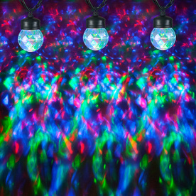 Shop Gemmy Lightshow 8-Count Red and Green Globe LED Christmas String Lights at Lowes.com