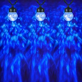 Gemmy Globe String Lights : Shop Gemmy Lightshow 8-Count Blue Globe LED Christmas String Lights at Lowes.com