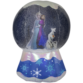 Gemmy 6-ft Lighted Snow Globe Christmas Inflatable 37648