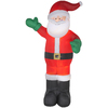 Gemmy 12.01-ft Lighted Santa Christmas Inflatable Deals