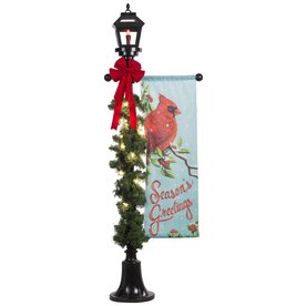 Shop Gemmy 602 ft Lighted Lamp Post Outdoor Christmas