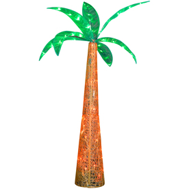 Gemmy Metal Palm Tree LED Light