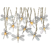 Gemmy 8.53-ft Silver Mini Bulb Light String Metal Dragonfly Patio String Lights