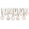 Gemmy 8.53-ft White Mini Bulb White Balls Light String Patio String Lights