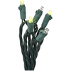 Gemmy 10.5-ft Green Mini Bulb Lights in Flight Light Strings Patio String Lights