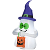 Gemmy 3.5-ft Inflatable Ghost with Candy LED White Lights