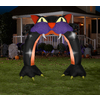 Gemmy 8.96-ft Inflatable Cat Archway with Incandescent White Lights