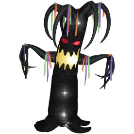Gemmy 7-1/2-ft Animatronic Inflatable Halloween Haunted Tree