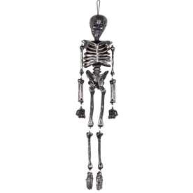 Gemmy 36.024-in Hanging Mr. Bones Jangles Indoor Halloween Decoration