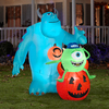 Gemmy 6-ft Inflatable Mike and Sulley with Incandescent White Lights