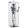Gemmy 38.189-in Lighted Musical Animatronic Hanging Caged Skeleton Indoor Halloween Decoration