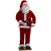 Gemmy Plastic Musical Animatronic Lifesize Santa Christmas Collectible
