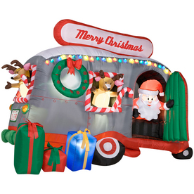 Gemmy 6-Ft. Inflatable Santa in RV