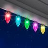 Gemmy Lightshow 24-Count Color Changing C9 LED Christmas String Lights