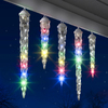 Gemmy 10-ft 10-Count Multicolor Shooting Christmas Icicles