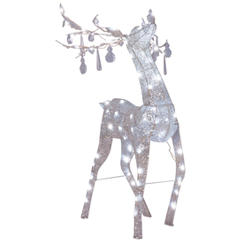 Gemmy 4-3/4-ft Metal Crystal LED ChristmasDeer