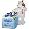 Holiday Living 5.01-ft Inflatable Fabric Whack A Penguin