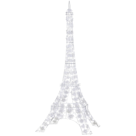 Gemmy 6-3/4-ft Metal LED Christmas Eiffel Tower
