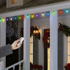 Gemmy 48-Count 4-ft Plastic Light Show Light Set with Remote